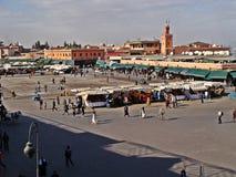 djemaa el fna正方形 免版税图库摄影