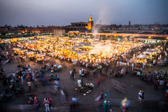 Djemaa El Fna Royalty Free Stock Photos