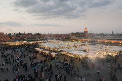 Djemaa El-Fna Royalty Free Stock Photo