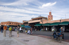 Djemaa el-Fna - Marrakech, Marocco Stock Photography