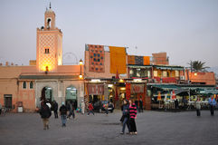 Djemaa El Fna, Marrakesh Stock Images