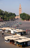 Djemaa el Fna square Stock Images