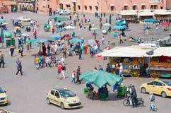Djemaa el Fna Square, Marrakech Stock Photos