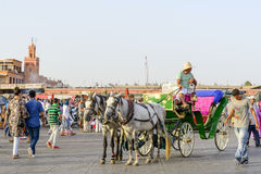 Djemaa el Fna Royalty Free Stock Photography