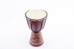 Djembe bębenu rytmu muzyczny instrument Zdjęcia Royalty Free