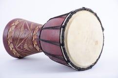 Djembe bębenu rytmu muzyczny instrument Obraz Stock