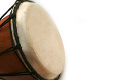 Djembe drum with copy space Stock Photo