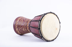 Djembe drum rhythm music instrument. For shaker africa beat stock photography