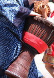 Djembe hand drum Royalty Free Stock Photography