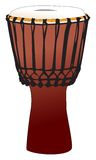 Djembe - tamtam percussion drum Stock Image