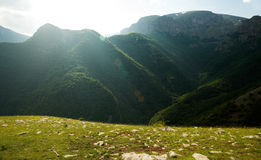 Djendema nature reserve and Botev peak, Bulgaria Stock Image
