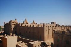 Djenne盛大清真寺,马里,非洲 库存照片