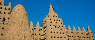 Djenné Wielki Meczet, Mali, Afryka. Obrazy Stock