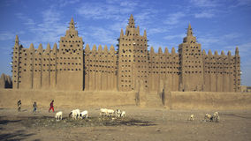 Djenné Mosque 1 Stock Photo