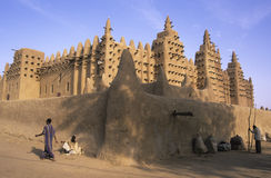 Djenné Mosque 2 Stock Images