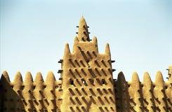 djenne极大的马里清真寺 免版税图库摄影
