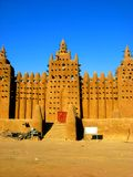 Mud Cathedral of Djenne royalty free stock photos