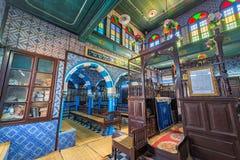 La Ghriba Synagogue in Djerba, Tunisia stock photo
