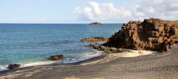 Djeu beach landscape Stock Photography