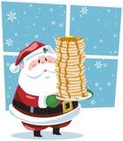 Déjeuner avec Santa Image stock
