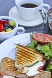 Déjeuner de Panini Images libres de droits