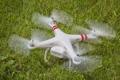 DJI幽灵quadcopter寄生虫 库存图片