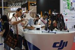Dji-Antennenfahrzeug Lizenzfreies Stockfoto