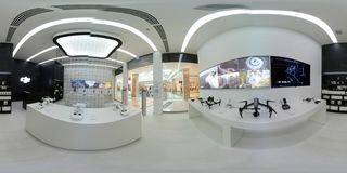 DJI Authorized Store interior in Metropolis Mall Stock Images
