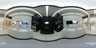 DJI Authorized Store interior in Metropolis Mall Royalty Free Stock Photos