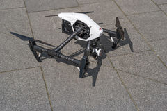 DJI Inspire Landed Stock Images