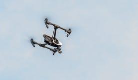 Dji inspirerar 1 flyg Arkivfoto