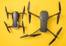 DJI Mavic Air and Mavic Pro drones stock images