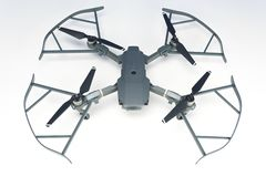 DJI Mavic Pro drone Closeup, One of the most portable drones in the market stock photography