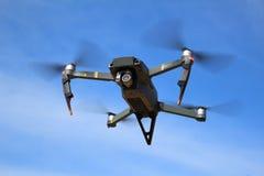 DJI Mavic Pro drone in flight Royalty Free Stock Image