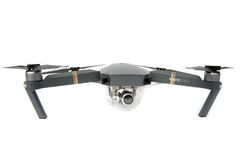 DJI Mavic Pro drone: Latvia JANUARY 20, 2017. Closeup,on white background. One of the most portable drones in the market,with 4k u. Illustrative, editorial stock photography