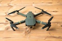 DJI Mavic Pro drone: Riga,Latvia DECEMBER 25,2016. One of the first DJI Mavic Pro drones shipped to Europe. stock photo