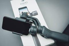 DJI Osmo Mobile 2 Imágenes de archivo libres de regalías