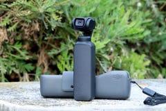 DJI Osmo Pocket Camera Outdoors stock foto's