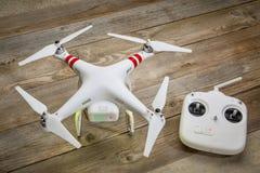 DJI-Phantom-quadcopter Brummen Lizenzfreie Stockbilder