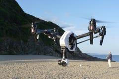 DJI spornen 1 Drohne an stockbild