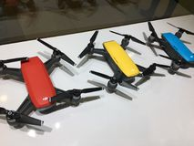 DJI-Vonk Mini Drone Stock Foto's