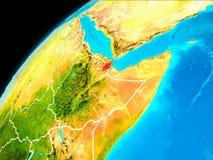 Djibouti de l'espace illustration libre de droits