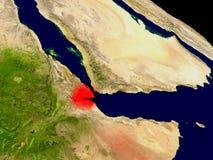 Djibouti de l'espace Images libres de droits