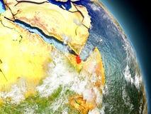 Djibouti de l'espace Images stock