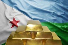 Djibouti gold reserves Royalty Free Stock Photo