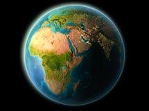 Djibouti le soir Image libre de droits