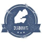Djibouti mark. Stock Image
