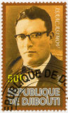 DJIBOUTI - 2010: shows Isaac Asimov (1920-1992) Stock Photography
