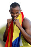 Djiboutian Athlet Ayanleh Souleiman Lizenzfreies Stockbild