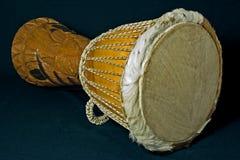 Djimbe från Senegal Arkivbild
